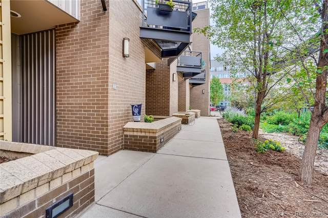 2900 Inca Street #20, Denver, CO 80202 (#4108118) :: Peak Properties Group