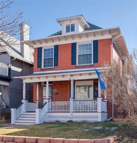 250 N Grant Street, Denver, CO 80203 (#4110752) :: Colorado Home Finder Realty