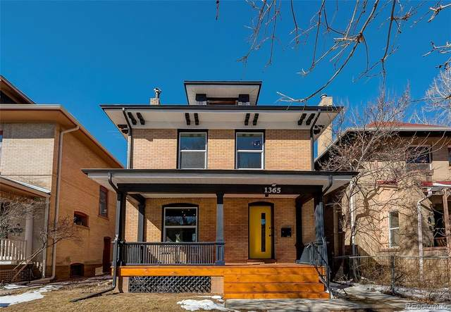 1365 Adams Street, Denver, CO 80206 (#4111087) :: The Dixon Group