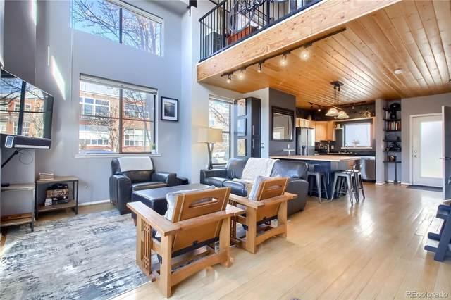 3267 Blake Street #103, Denver, CO 80205 (MLS #4115682) :: Kittle Real Estate