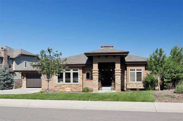9327 Windhaven Drive, Parker, CO 80134 (#4116799) :: The DeGrood Team