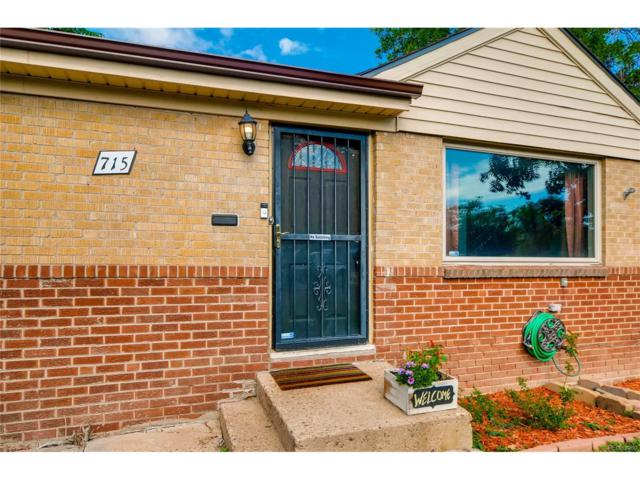 715 S Dale Court, Denver, CO 80219 (MLS #4118399) :: 8z Real Estate