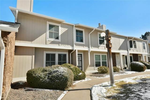 10321 E Evans Avenue #175, Aurora, CO 80247 (MLS #4118555) :: 8z Real Estate