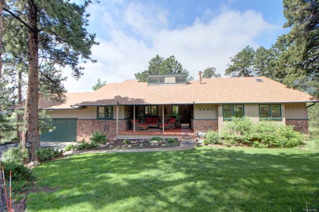 2401 Pinehurst Drive, Evergreen, CO 80439 (#4119153) :: The Griffith Home Team