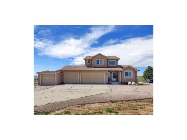 19545 Mariah Trail, Colorado Springs, CO 80908 (MLS #4122219) :: 8z Real Estate