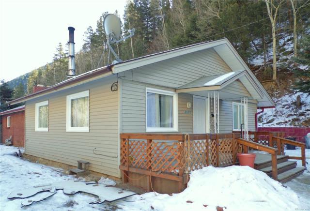 4577 Colorado 103 Highway, Idaho Springs, CO 80452 (#4123120) :: RE/MAX Professionals