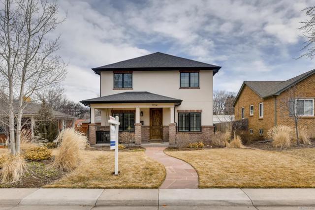 934 Locust Street, Denver, CO 80220 (#4123800) :: Harling Real Estate