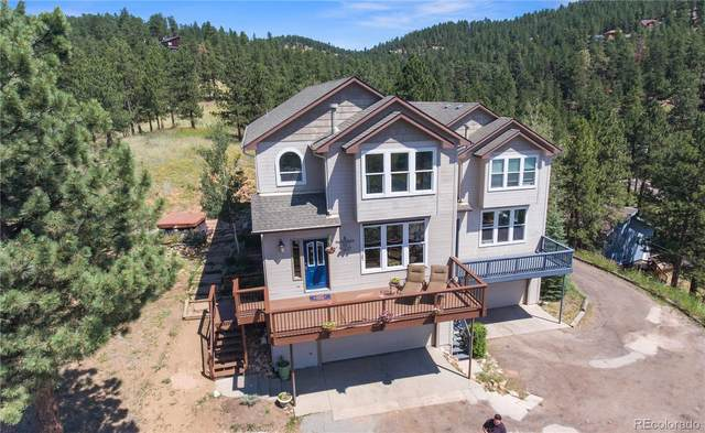 3345 Russell Gulch Road A, Evergreen, CO 80439 (#4127658) :: You 1st Realty