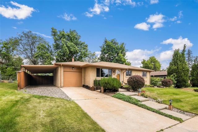 3203 W Saratoga Avenue, Englewood, CO 80110 (#4128641) :: The Pete Cook Home Group