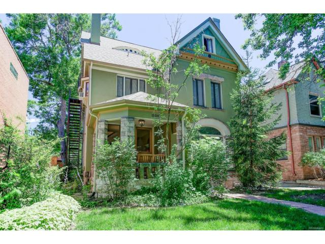 1326 Columbine Street #3, Denver, CO 80206 (MLS #4130698) :: 8z Real Estate