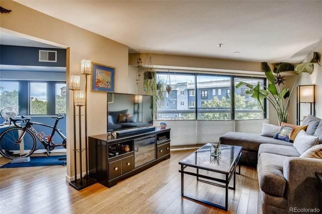 100 Park Avenue #306, Denver, CO 80205 (#4131327) :: Kimberly Austin Properties