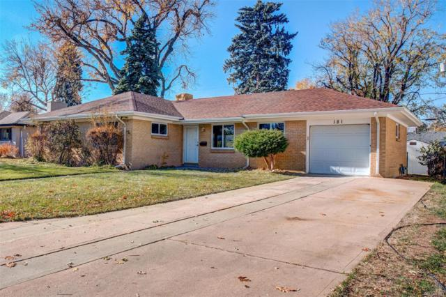181 Niagara Street, Denver, CO 80220 (#4133672) :: Wisdom Real Estate
