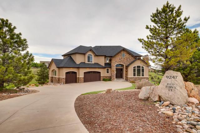 9247 Red Poppy Court, Parker, CO 80138 (MLS #4133741) :: Bliss Realty Group