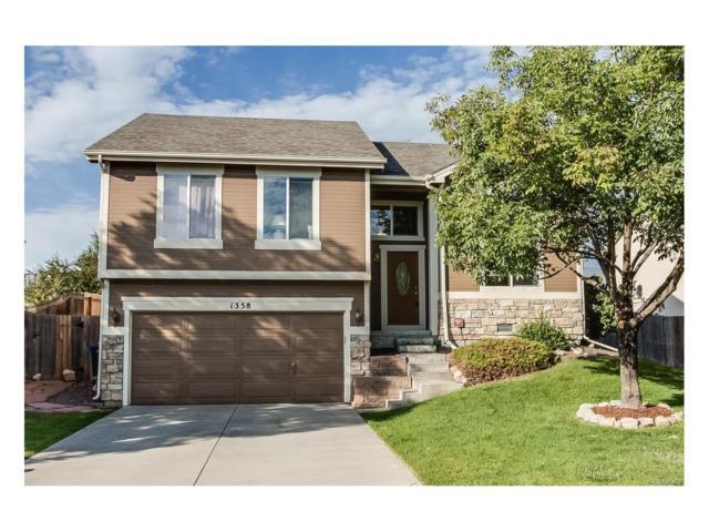 1358 E 96th Drive, Thornton, CO 80229 (MLS #4137998) :: 8z Real Estate