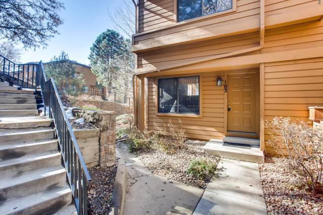9400 E Iliff Avenue #103, Denver, CO 80231 (#4141153) :: The Heyl Group at Keller Williams