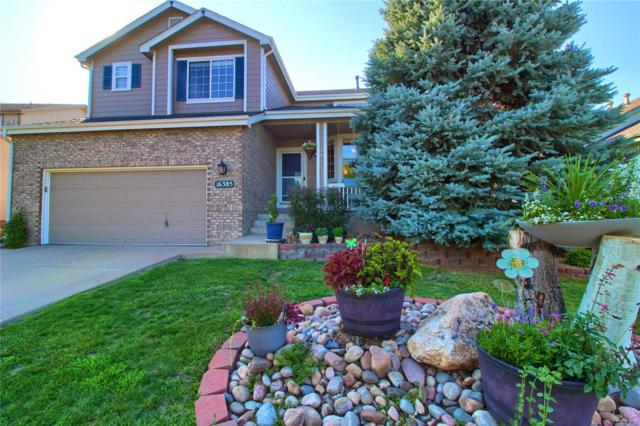 16385 Wagon Court, Parker, CO 80134 (#4142606) :: The DeGrood Team
