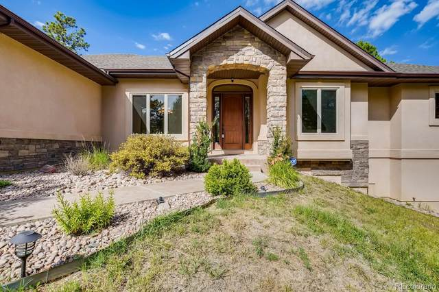 15424 Pole Pine Point, Colorado Springs, CO 80908 (#4142844) :: The DeGrood Team