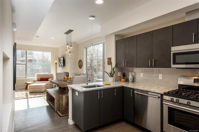1883 Vine Street #106, Denver, CO 80206 (#4145137) :: The Pete Cook Home Group