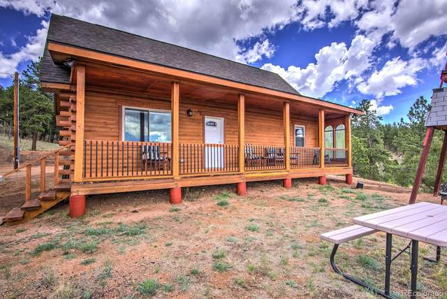 1123 Arapahoe Creek Trail, Florissant, CO 80816 (#4146803) :: Bring Home Denver with Keller Williams Downtown Realty LLC