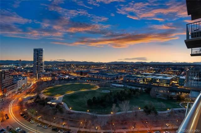 1700 Bassett Street #1706, Denver, CO 80202 (#4148711) :: Hudson Stonegate Team