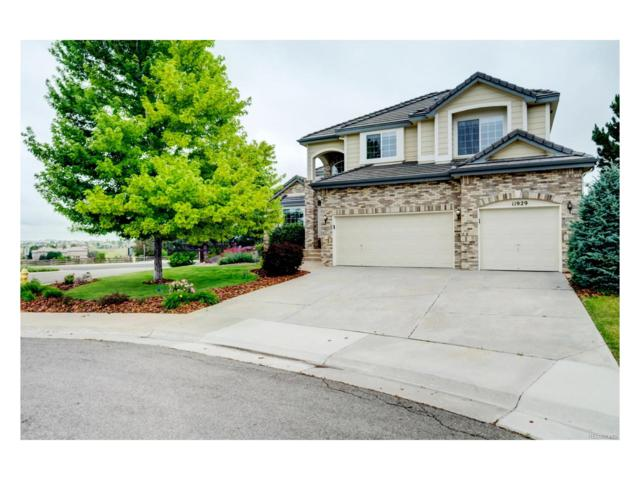 11929 Bent Oaks Street, Parker, CO 80138 (#4149673) :: The Griffith Home Team