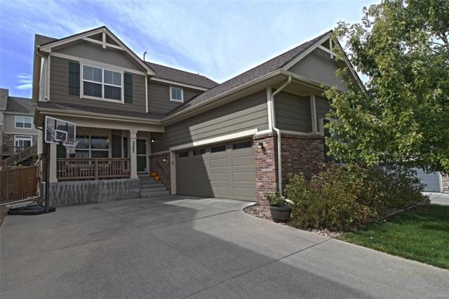 5585 S Buchanan Street, Aurora, CO 80016 (#4151614) :: The Griffith Home Team
