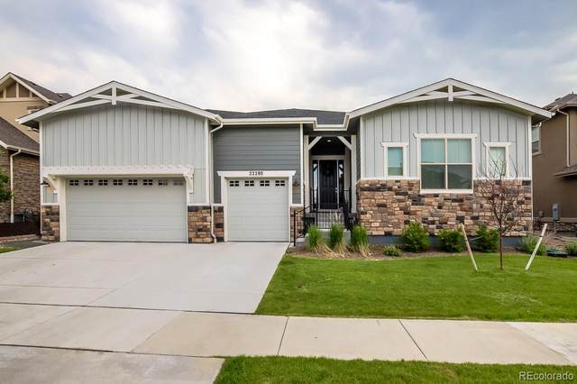 22280 Boundstone Drive, Parker, CO 80138 (#4154519) :: Peak Properties Group