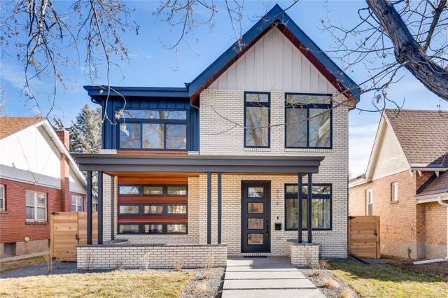 656 S Vine Street, Denver, CO 80209 (MLS #4155053) :: Colorado Real Estate : The Space Agency