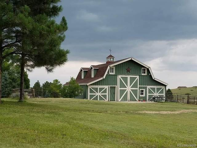 132 Meadow Station Road, Parker, CO 80138 (#4155962) :: My Home Team
