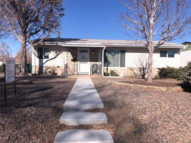 4201 E 69th Avenue, Commerce City, CO 80022 (#4160398) :: The City and Mountains Group