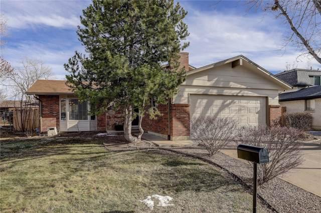 7350 S Eudora Court, Centennial, CO 80122 (MLS #4161795) :: 8z Real Estate