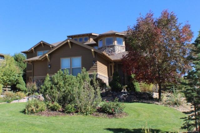 22447 E Hidden Trail Drive, Parker, CO 80138 (#4165959) :: Hometrackr Denver
