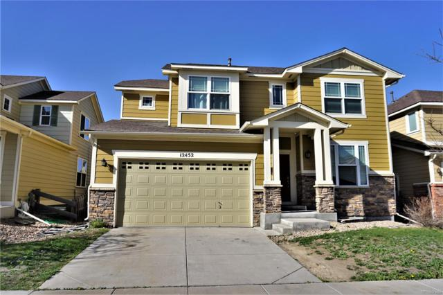 12452 E 106th Place, Commerce City, CO 80022 (#4166431) :: The Peak Properties Group