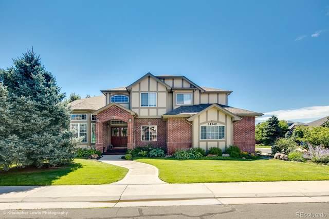 14742 E Lake Place, Centennial, CO 80016 (MLS #4167964) :: 8z Real Estate