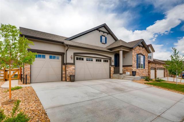 21129 E Saratoga Avenue, Aurora, CO 80015 (#4168369) :: The Griffith Home Team