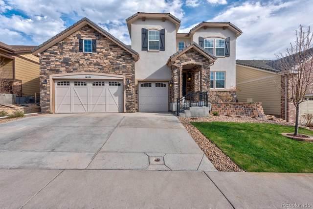 14101 Sierra Ridge Circle, Parker, CO 80134 (#4169089) :: West + Main Homes