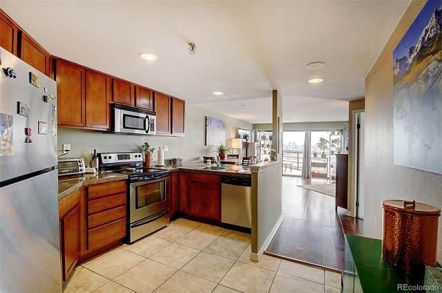 100 Park Avenue #1207, Denver, CO 80205 (#4173317) :: The Scott Futa Home Team