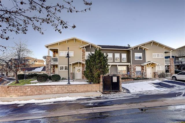 9306 Amison Circle #101, Parker, CO 80134 (#4174222) :: My Home Team