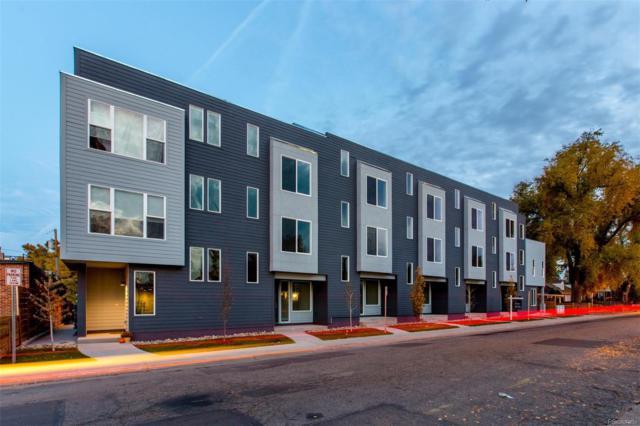 1460 Wolff Street #101, Denver, CO 80204 (#4175762) :: The Peak Properties Group