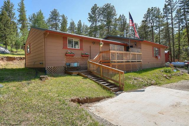 74 Whispering Pine Drive, Lake George, CO 80827 (#4176298) :: Arnie Stein Team | RE/MAX Masters Millennium