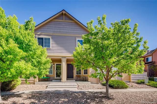 2365 Cutters Circle #106, Castle Rock, CO 80108 (#4177151) :: Kimberly Austin Properties