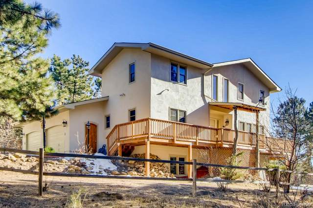 1332 Valley View Drive, Larkspur, CO 80118 (#4182439) :: The Scott Futa Home Team