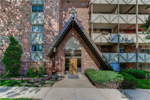 1243 Gaylord Street #308, Denver, CO 80206 (#4182527) :: The Griffith Home Team