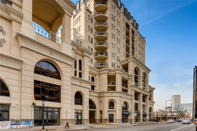 975 N Lincoln Street 5B-N, Denver, CO 80203 (#4185744) :: The Peak Properties Group