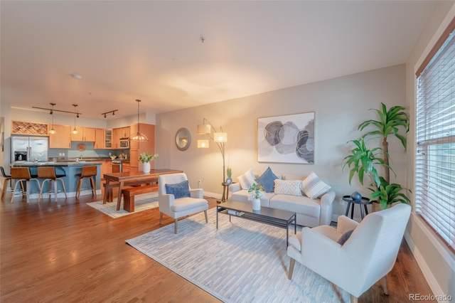 2195 Decatur Street #206, Denver, CO 80211 (#4186325) :: Finch & Gable Real Estate Co.