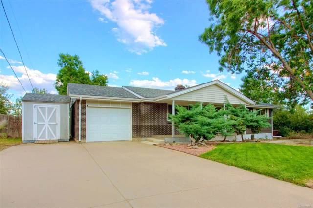 780 Cole Drive, Lakewood, CO 80401 (#4187561) :: The Dixon Group