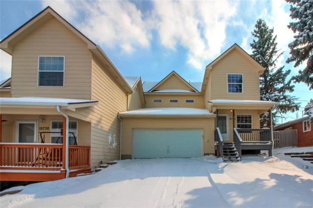 15740 W 3rd Place, Golden, CO 80401 (MLS #4191596) :: Bliss Realty Group