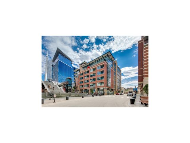 2100 16th Street #602, Denver, CO 80202 (#4191927) :: The City and Mountains Group