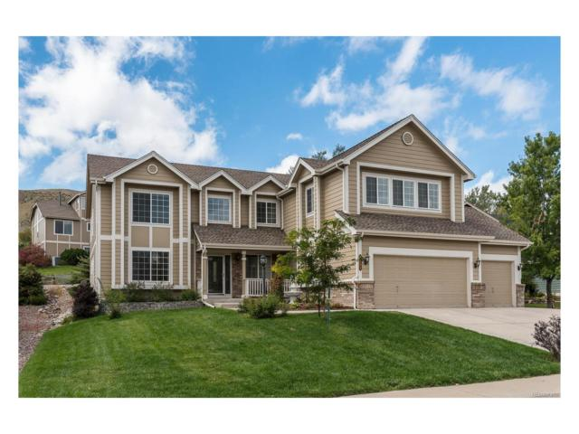 1711 Wild Rye Court, Castle Rock, CO 80109 (#4194828) :: The Thayer Group
