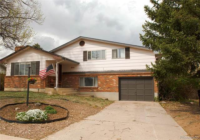 804 Ellston Street, Colorado Springs, CO 80907 (MLS #4194859) :: 8z Real Estate